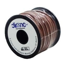 Çok Damarlı Montaj Kablosu 22AWG 25 Metre Kahverengi - Thumbnail
