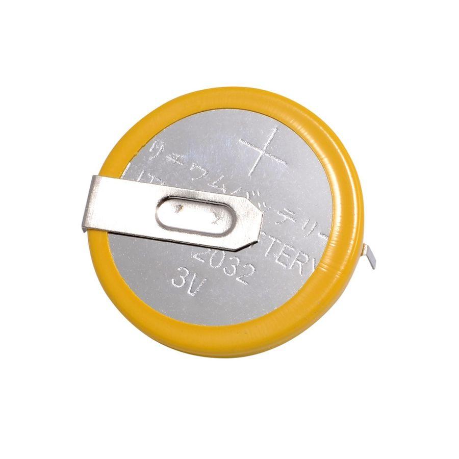 CR2032 - 2 Pin Yatay 20mm Lityum Pil