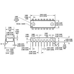 DAC0808 Dijital Analog Çevirici Entegresi Dip-16 - Thumbnail