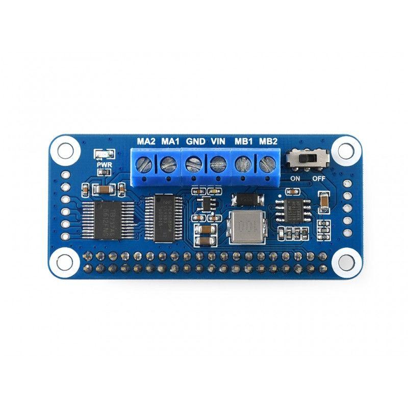 DC Motor Sürücü Kartı - Raspberry Pi - I2C - WaveShare