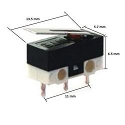 DC162 Micro Switch - Thumbnail
