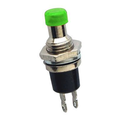 DC177 Yeşil Push Buton