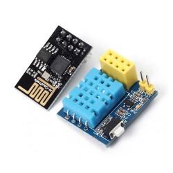 DHT11 ile WiFi Sıcaklık ve Nem Sensör Modülü - Thumbnail
