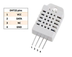 DHT22 Sıcaklık ve Nem Sensörü - Thumbnail