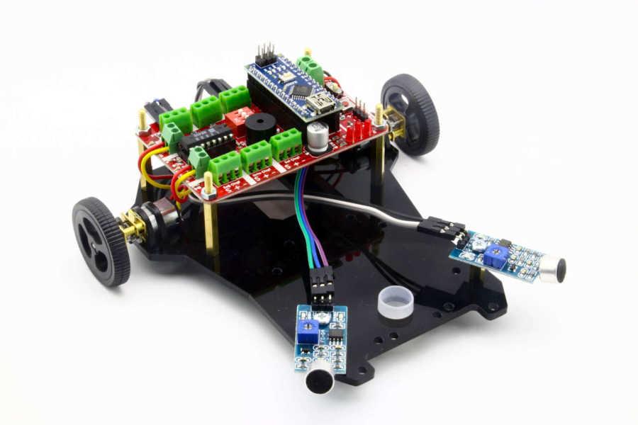 Diano Sese Yönelen Robot Kiti (Montajı Yapılmış)