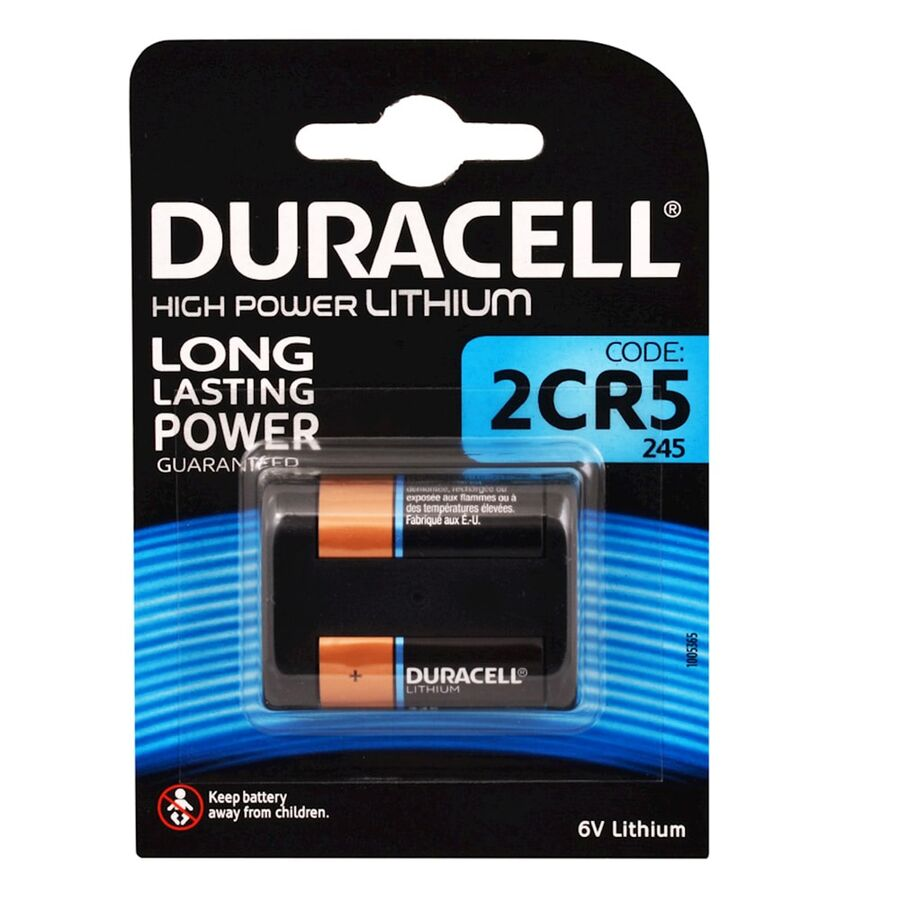 DL245, 2CR5 1'li Ultra 6V Pil