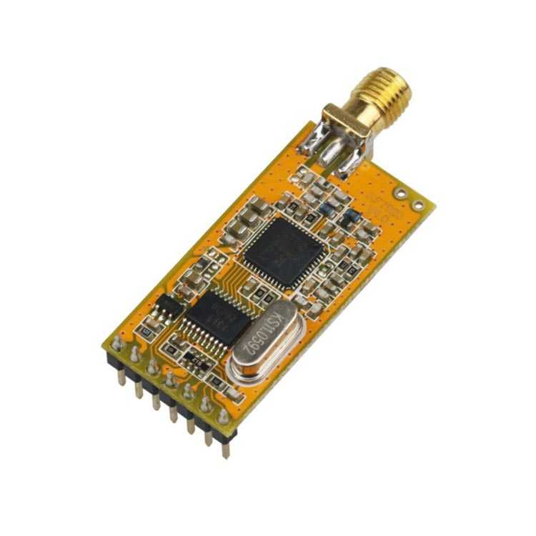 DRF7020D13 Dorji Alıcı Verici RF Modül (13dBm 433MHz Transparan)