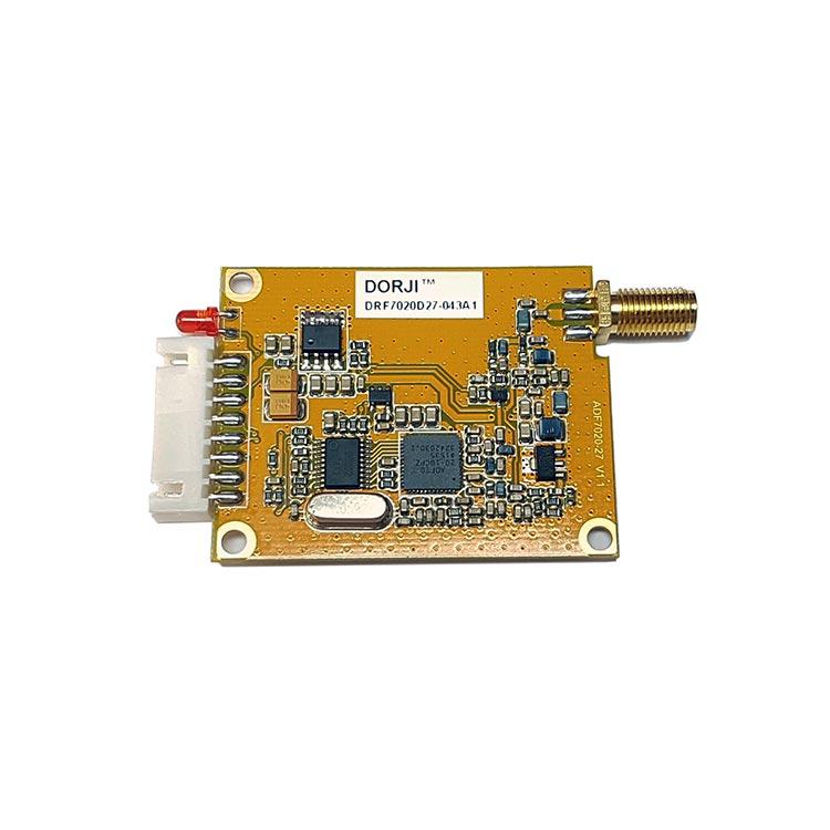 DRF7020D27 Dorji Alıcı Verici RF Modül (27dBm 433MHz Transparan)
