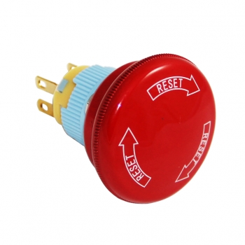Drn958 16mm Acil - Stop Bas Çevir Switch (Kafa 37mm)