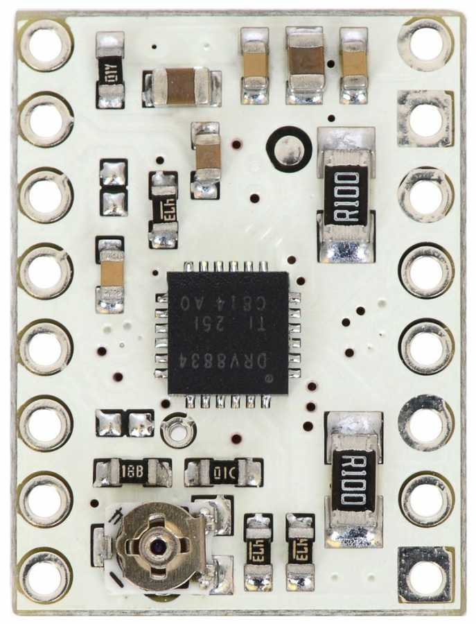 DRV8834 Düşük Voltaj Step Motor Sürücü Taşıyıcı