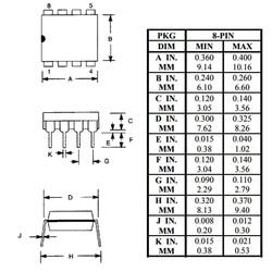 DS1307 RTC Gerçek Zaman Entegresi Dip-8 - Thumbnail