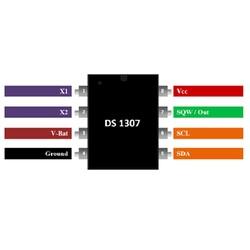 DS1307 Smd RTC Gerçek Zaman Entegresi Soic-8 - Thumbnail