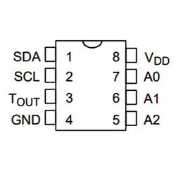 DS1621 Sıcaklık Sensörü Entegresi Dip-8 - Thumbnail