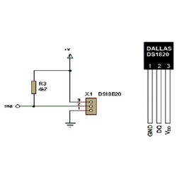 DS1820 Sıcaklık Sensörü Entegresi PR-35 - Thumbnail