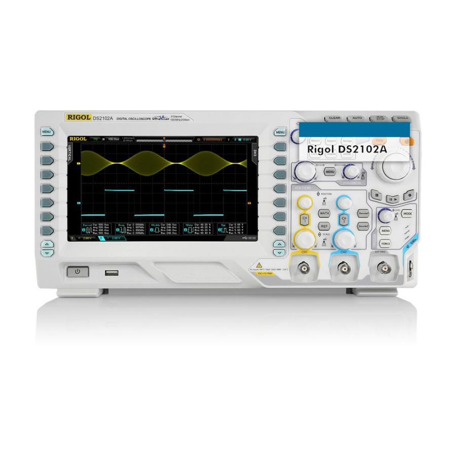 DS2102A 100MHz 2 Kanal Dijital Hafızalı Osiloskop