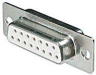 15-Pin Lehim Tip Dişi D-Sub Konnektör
