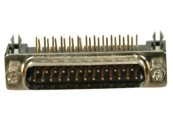 25-Pin 90° Erkek D-Sub Konnektör
