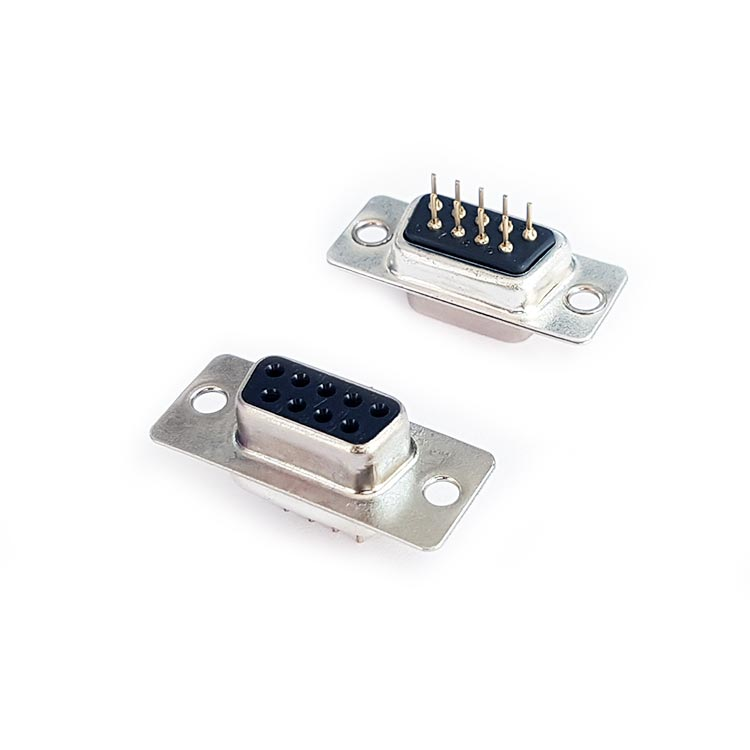 9 Pin İğne Ayak Dişi D-Sub Konnektör