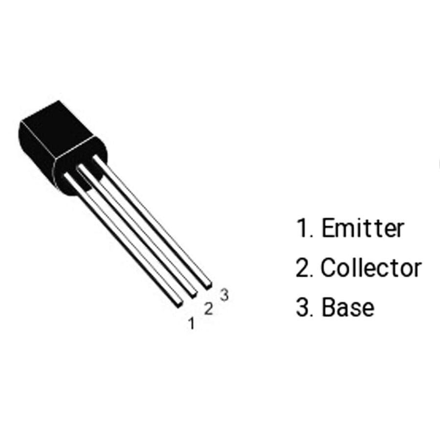 DTC123JS Npn Tht Transistör To-92