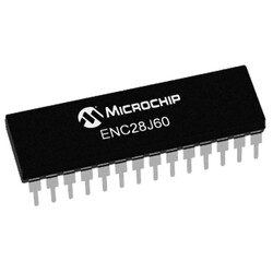 ENC28J60 I/SP Ethernet Denetleyici Entegresi Dip-28 - Thumbnail