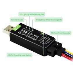 Endüstriyel USB-TTL Dönüştürücü Orijinal FT232RL - Thumbnail