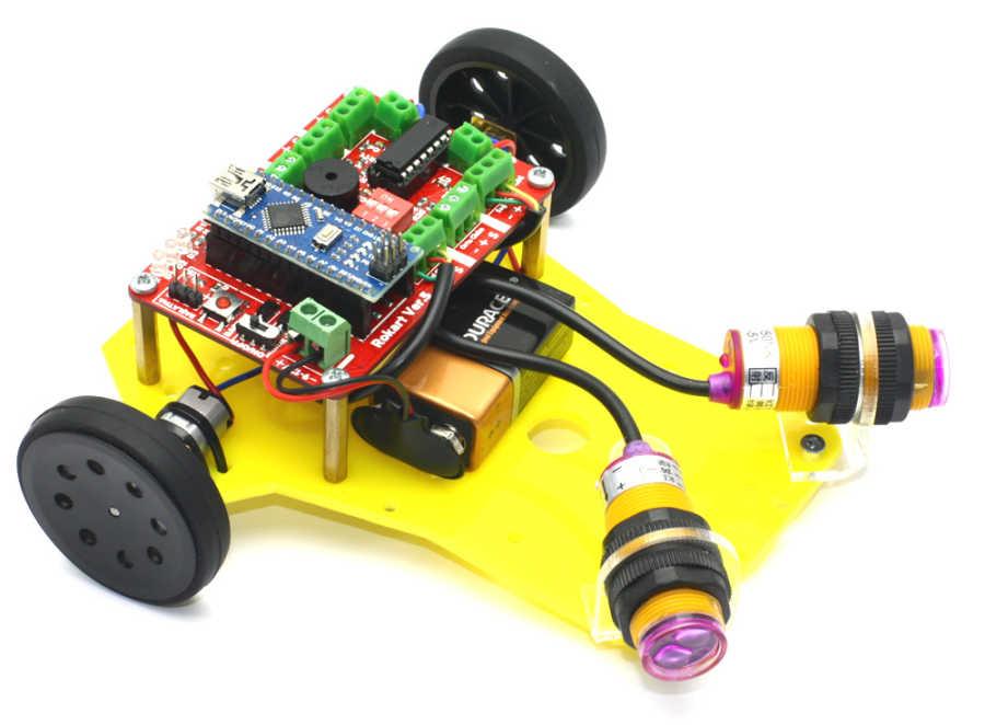 Engelden Kaçan Robot - Prex (Demonte)