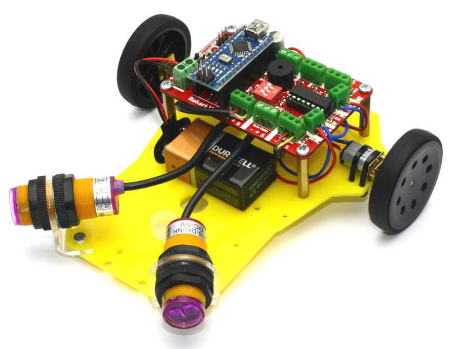 Engelden Kaçan Robot - Prex (Montajı Yapılmış)