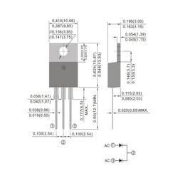 ER1602CT 200V 16A Diyot To220ab - Thumbnail