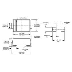 ES1D 1A 200V Hızlı Diyot Do214ac (Sma) - Thumbnail