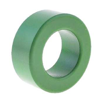 Ferrit Toroid Ring Al-8000 Bobin - Yeşil Renkli