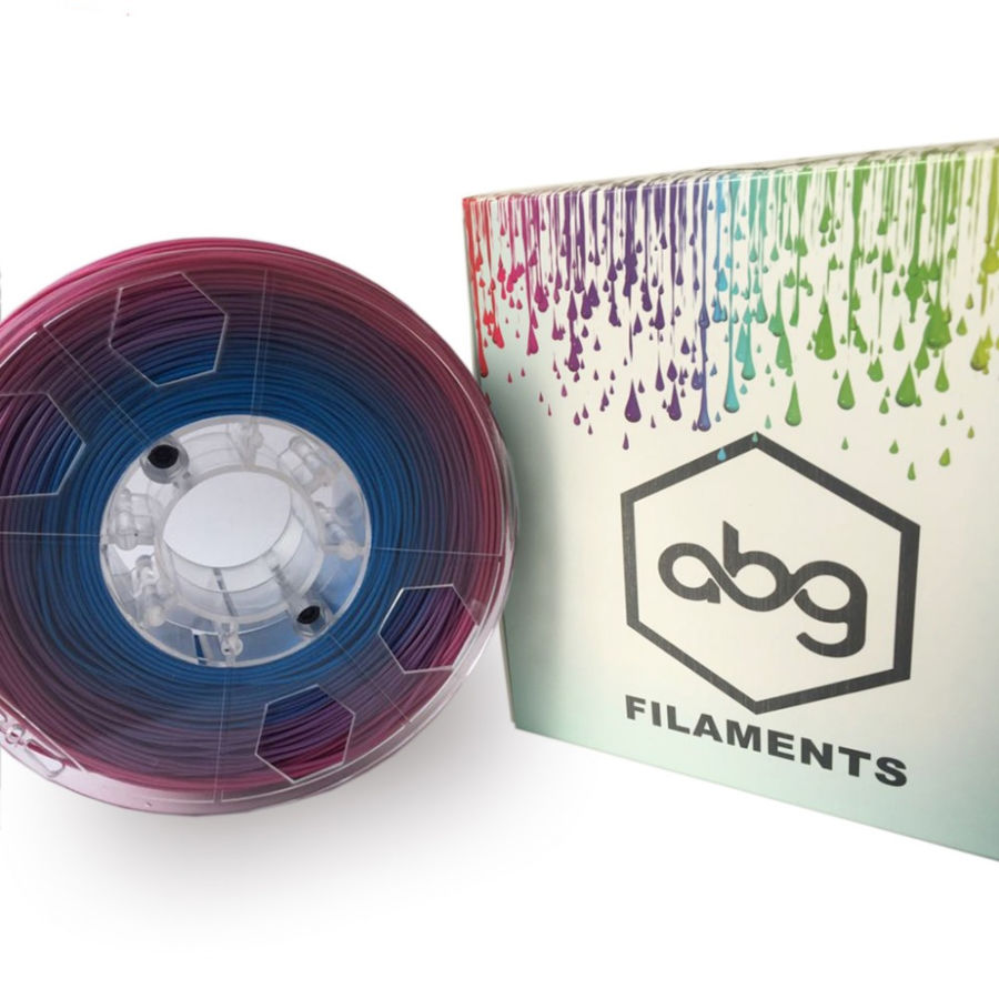 Filament 1.75 mm MultiColour PLA - ABG