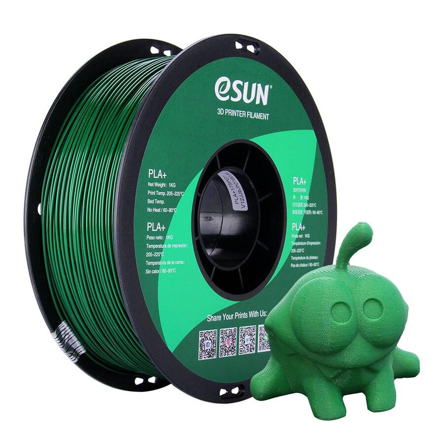 Filament 1.75mm PLA+ Yeşil eSun
