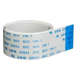 Flex Kablo 18 Pin 0.5mm 1m - Beyaz - Thumbnail