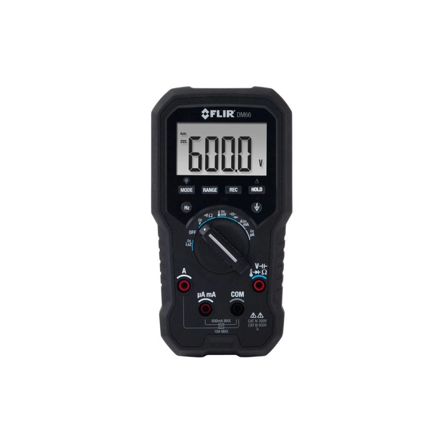FLIR DM66 Dijital Multimetre ELEC/FIELD SVC TRMS W/VFD MODE