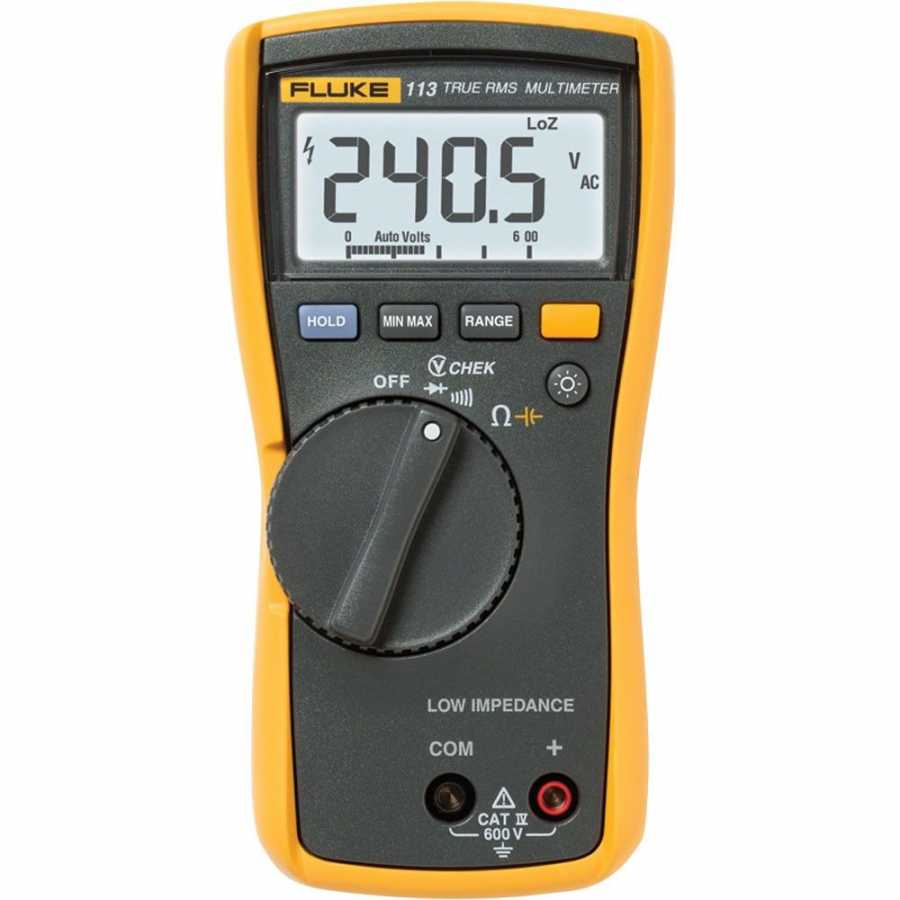 Fluke 113 True Rms Dijital Multimetre