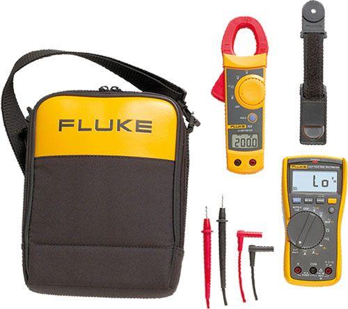 Fluke 117/322 Electrician's Combo Kit