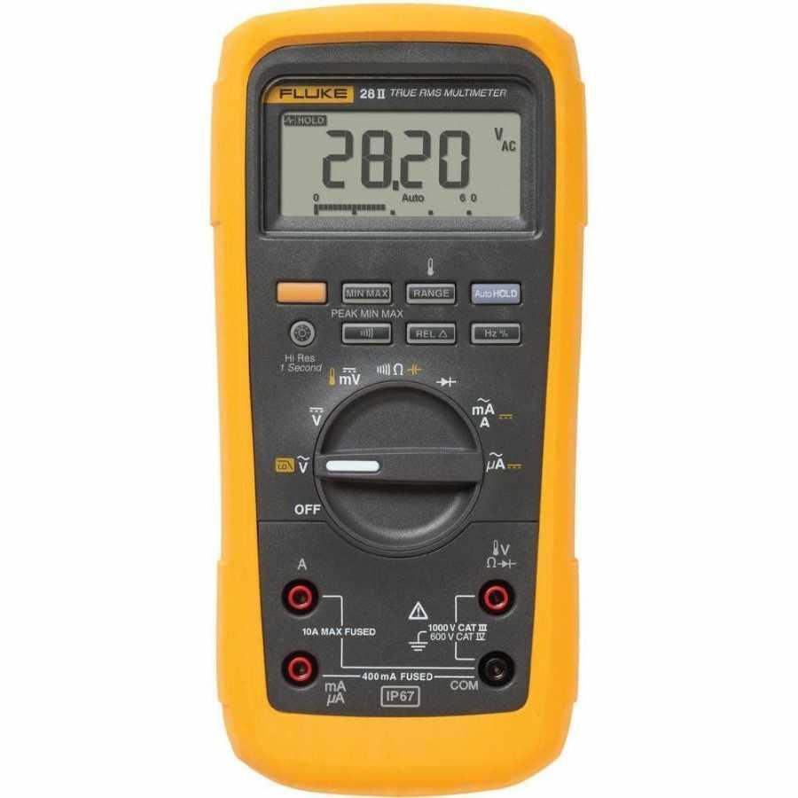 Fluke 28II / EUR IP67 True Rms Endüstriyel Dijital Multimetre