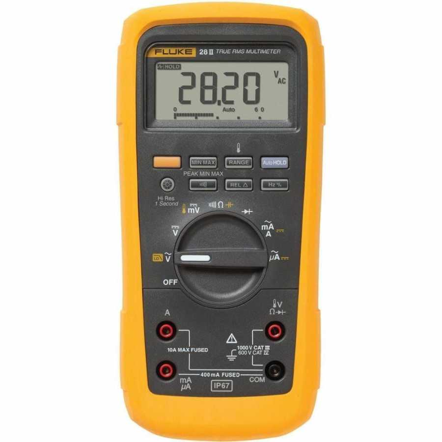 Fluke 28II/EUR True RMS Industrial Multimeter (IP67)