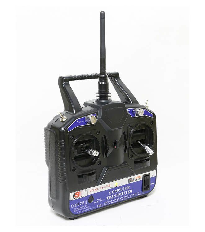 Flysky FS-CT6B 2.4Ghz 6 Kanal RC Kumanda Seti