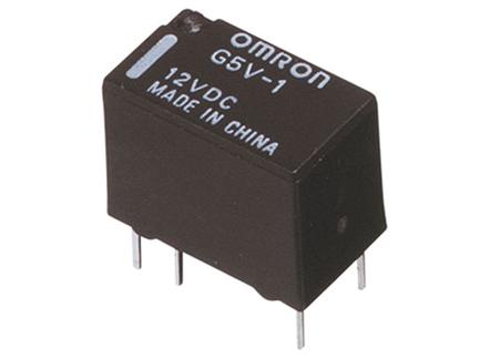 G5V-1-12VDC 12V 1A SPDT 1FormC Omron Röle
