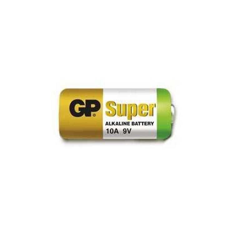 GP 10A 9V Alkaline Pil