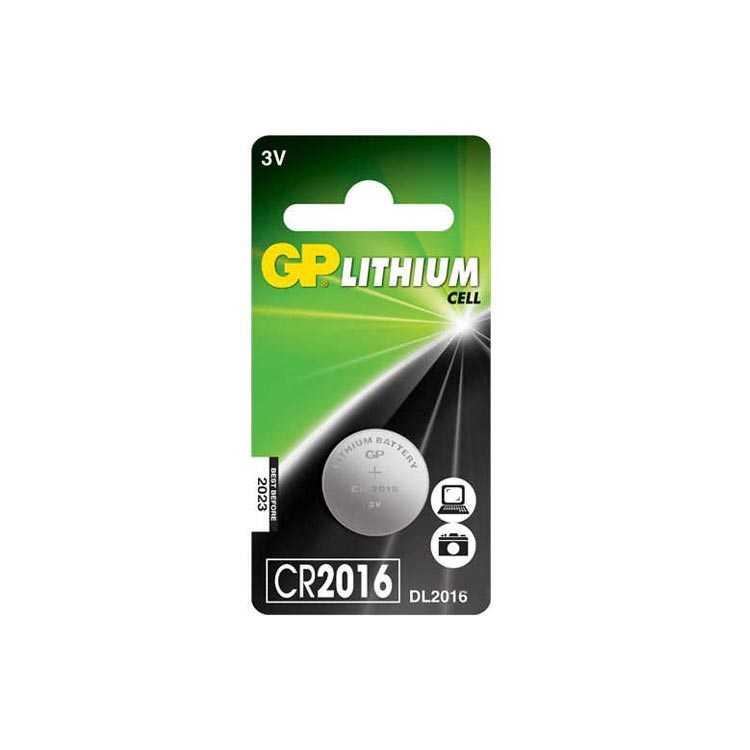 GP CR2016 3V Lityum Pil - Elektronik Aygıtlar için