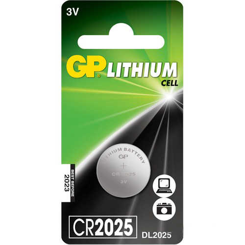 GP CR2025 3v Pil