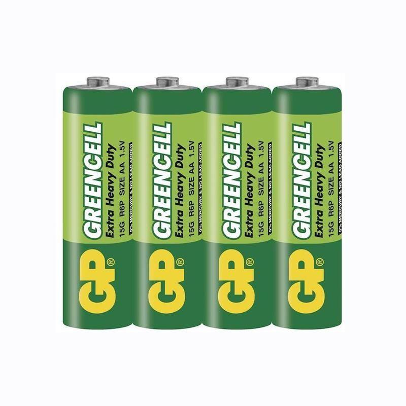 GP GreenCell Kalem Pil AA (4'lü Paket)