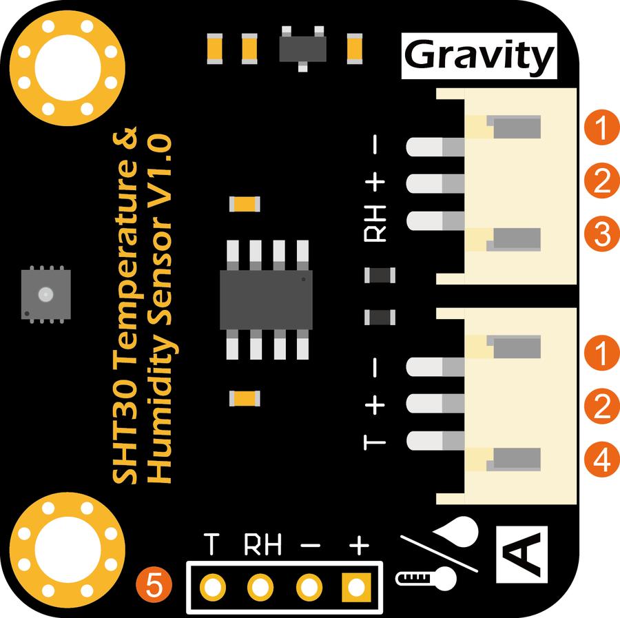 Gravity: Analog SHT30 Nem ve Sıcaklık Sensörü