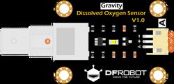 Gravity: Arduino ve Raspberry Pi Uyumlu Analog Çözünmüş Oksijen Sensörü / Metre Kiti - Thumbnail