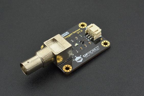Gravity: Arduino ve Raspberry Pi Uyumlu Analog Çözünmüş Oksijen Sensörü / Metre Kiti