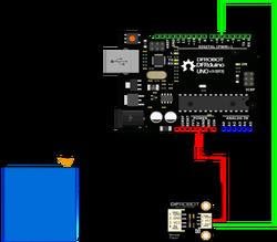 Gravity: Arduino Uyumlu Fotoelektrik Su / Sıvı Seviyesi Sensörü - Thumbnail