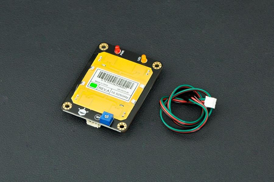 Gravity: Dijital Mikrodalga Sensörü (Hareket Algılama) - Arduino Uyumlu