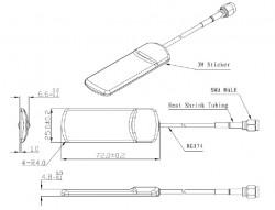 GSM Anteni 3.5 dBi - Thumbnail